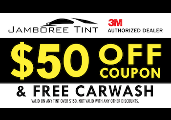 $50 OFF + FREE WASH WITH ANY TINT OVER $150